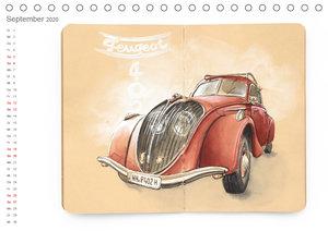Classic Car Sketchbook