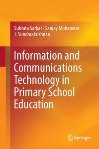Information and Communications Technology in Primary School Educ