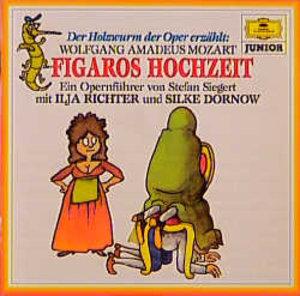 Figaros Hochzeit. Der Holzwurm der Oper erzählt. CD