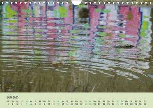Farben des Wassers (Wandkalender 2020 DIN A4 quer)