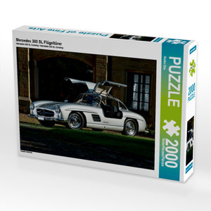 CALVENDO Puzzle Mercedes 300 SL Flügeltürer 2000 Teile Lege-Größ