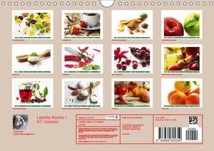 Leichte Küche / AT-Version (Wandkalender 2019 DIN A4 quer)