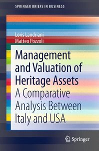 Management and Valuation of Heritage Assets