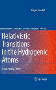 Relativistic Transitions in the Hydrogenic Atoms