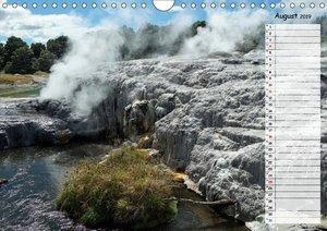 Vulkanisches und Geothermisches - Neuseeland (Wandkalender 2019