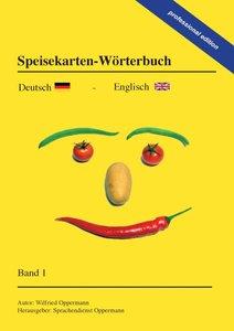 Speisekarten-Wörterbuch - professional edition