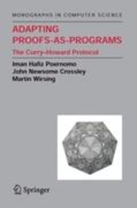 Adapting Proofs-as-Programs