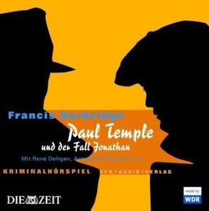 Paul Temple und der Fall Jonathan. 4 CDs