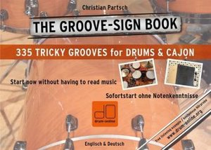 THE GROOVE SIGN BOOK - Drums & Cajon ohne Noten