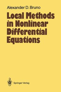 Local Methods in Nonlinear Differential Equations