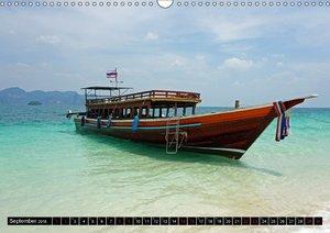 Maritimes - Bunte Boote (Wandkalender 2018 DIN A3 quer)