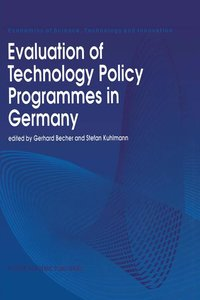 Evaluation of Technology Policy Programmes in Germany