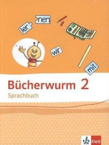 Bücherwurm Sprachbuch / Schülerbuch 2. Schuljahr. Allgemeine Aus