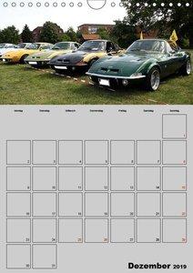 Opel GT Terminplaner (Wandkalender 2019 DIN A4 hoch)