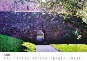 Festes Schloss Heidelberg (Wandkalender 2020 DIN A3 quer)