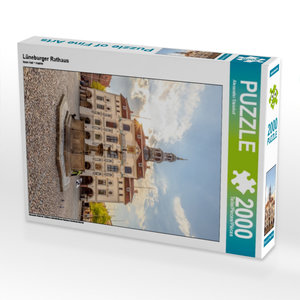 Lüneburger Rathaus 2000 Teile Puzzle hoch