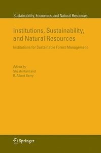 Institutions, Sustainability, and Natural Resources
