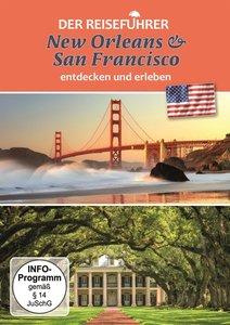 Der Reiseführer: New Orleans & San Francisco, 1 DVD
