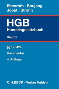 Handelsgesetzbuch Bd. 1: §§ 1-342e