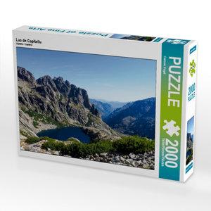 CALVENDO Puzzle Lac de Capitellu 2000 Teile Lege-Größe 90 x 67 c