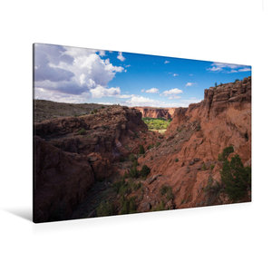 Premium Textil-Leinwand 120 cm x 80 cm quer Canyon de Chelly