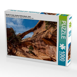 Double O Arch, Arches Nationalpark, Utah 1000 Teile Puzzle quer