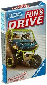 Ravensburger 20342 - Super Trumpf, Fun & Drive, Actionreiches Ka