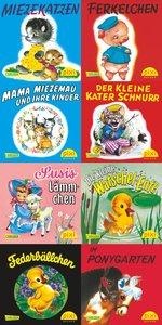 Pixi-Bücher. Serie 65: Tiergeschichten. 64 Exemplare à EURO 0,95