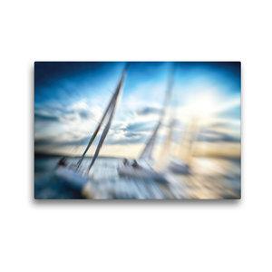 Premium Textil-Leinwand 45 cm x 30 cm quer Hart an der Kreuz