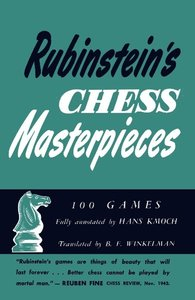 RUBINSTEINS CHESS MASTERPIECES