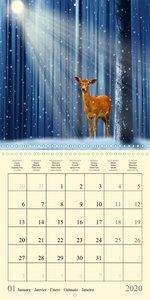 Fantasy World Mausopardia (Wall Calendar 2020 300 × 300 mm Squar
