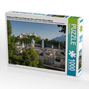 CALVENDO Puzzle Salzburg mit Blick zum Salzburger Dom und Feste