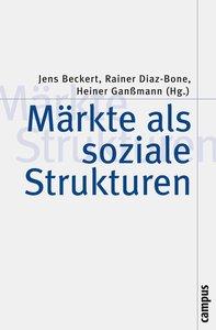 Märkte als soziale Strukturen