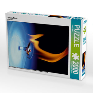 Olympic Flame 2000 Teile Puzzle hoch