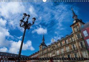 Metropole Madrid (Wandkalender 2019 DIN A3 quer)