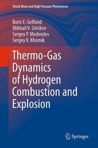 Thermo-Gas Dynamics of Hydrogen Combustion and Explosion