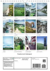 Roadtrip durch Südengland (Wandkalender 2020 DIN A4 hoch)