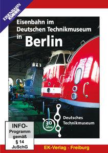 Eisenbahn im Deutschen Technikmuseum in Berlin