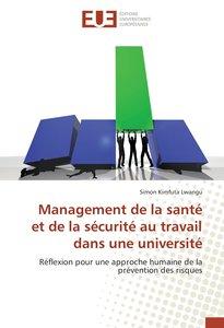 Management de la santé et de la sécurité au travail dans une uni