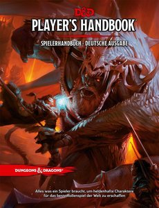Dungeons & Dragons Player\'s Handbook - Spielerhandbuch