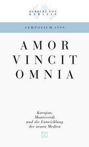 Amor Vincit Omnia. Karajan, Monteverdi und die Entwicklung der N