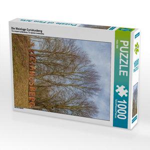 Die Weinlage Cyriakusberg 1000 Teile Puzzle hoch