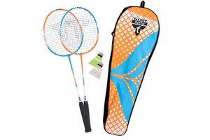 Talbot Torro 449402 - Badminton Attacker 2er Set, 2 Schläger und