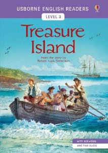 Usborne English Readers Level 3: Treasure Island