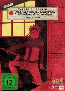 Naruto Shippuden. Staffel.21.1, 2 DVD