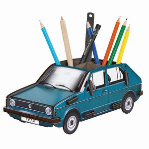 Stiftebox VW Golf 1 blau