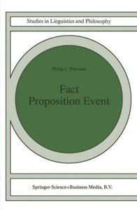 Fact Proposition Event