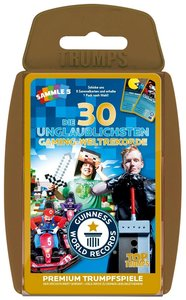 Top Trumps Guinness World Records - Die 30 unglaublichsten Gamin