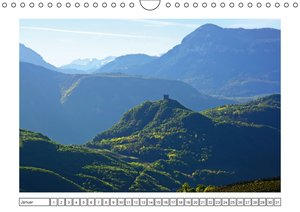 Südtirol im Frühling. Etschtal, Überetsch und Unterland. (Wandka
