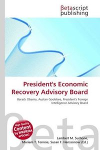 President\'s Economic Recovery Advisory Board